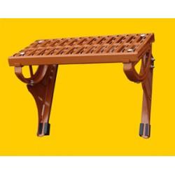 Standrost für Tondachziegel und Betonpfannen (Stahl rot)