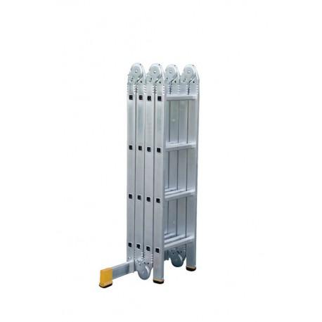 Alu - Vielzweckleiter (Kofferraumleiter) 4x4 Sprossen