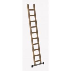Holz Anlegeleiter 17 Sprossen