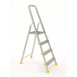 Einseitige Stufenstehleiter 4 Sprossen