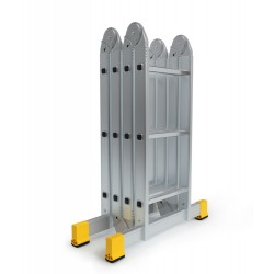 Alu - Vielzweckleiter (Kofferraumleiter) 4x3 Sprossen